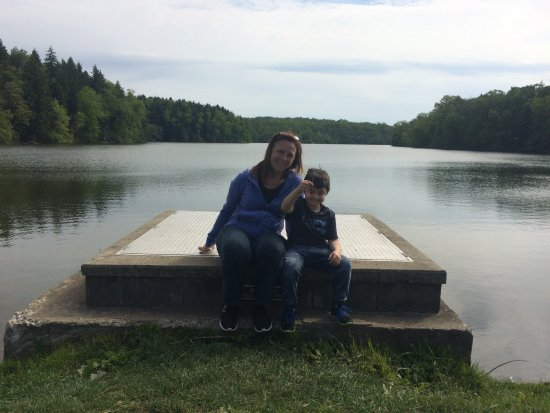 Peters Lake Park: This is a pretty spot on the earthen dam that holds up the lake.