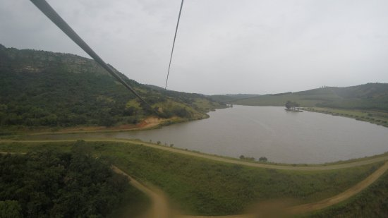 Port Shepstone, South Africa: Going over the dam