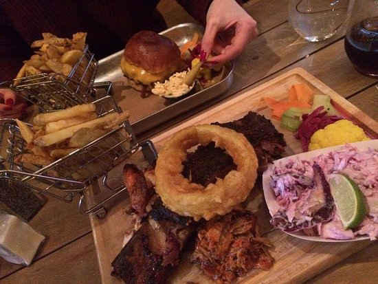 County Dublin, Ireland: The mix platter