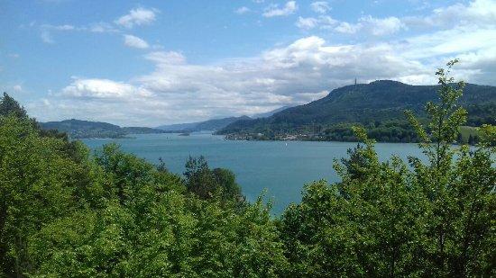 Techelsberg, Austria: vista dalla terrazza
