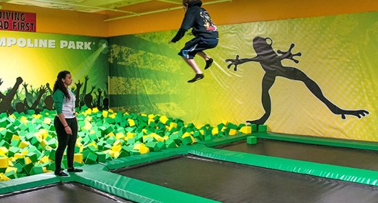 Mount Kisco, Estado de Nueva York: This is my favorite part the foam pit