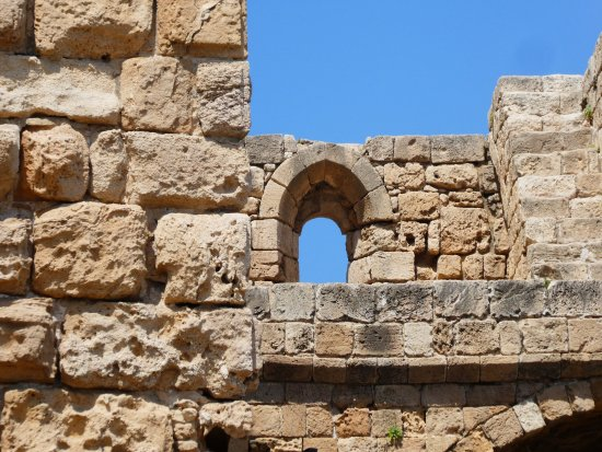 Sidon, Lebanon: typical arched window