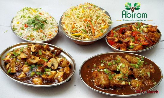 Few photos of chinese cuisine indian style abiram absolutely abiram absolutely vegetarian restaurant few photos of chinese cuisine indian style forumfinder Images