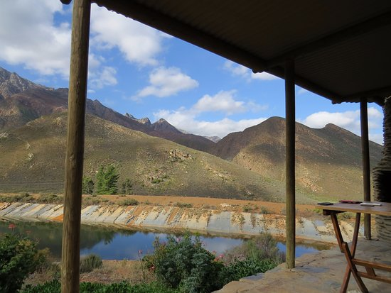 Robertson, South Africa: The stoep