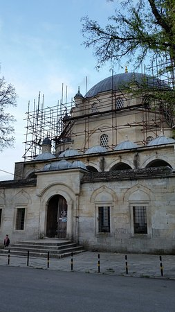 Tombul Mosque : The mosque under renovation (May 2017)