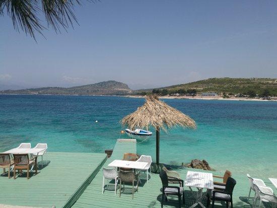 Wunderschönes Restaurant - direkt am Meer, hervorragende Küche und ...