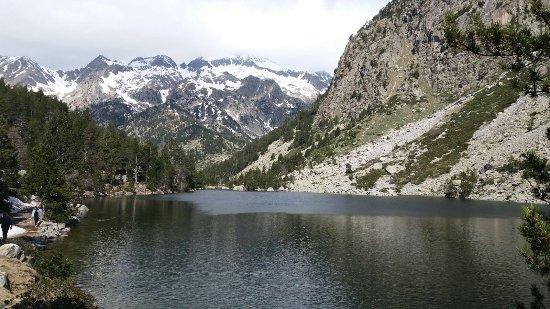 Caldes De Boi, Espagne : Llac Llonc, Parc Nacional d'Aigüestortes, Lleida,