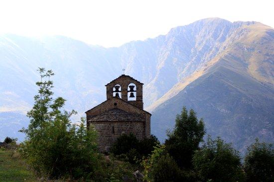 Caldes De Boi, Espagne : Ermita de Sant Quirc, La Vall de Boí, Lleida