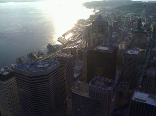 View from the 75th floor picture of columbia center for Columbia flooring reviews