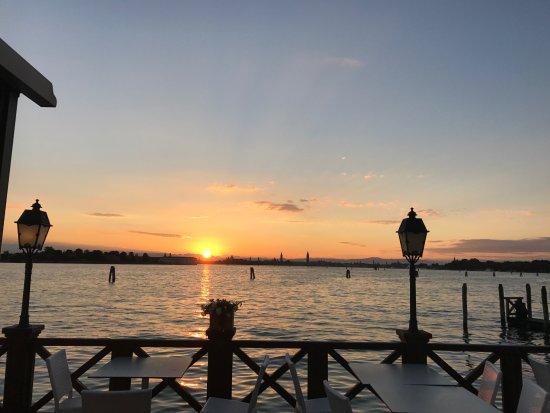 Lido di Venezia, Italia: Terrasse der Bar