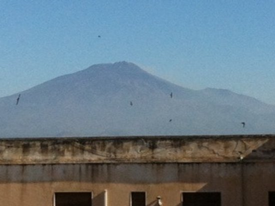 Bed & Breakfast San Placido Inn : Etna panorama dalla terrazza