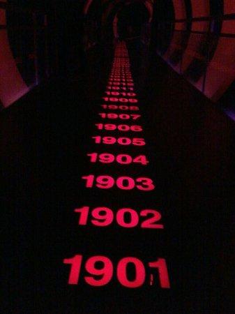 Museo River Plate: Tunel del Tiempo