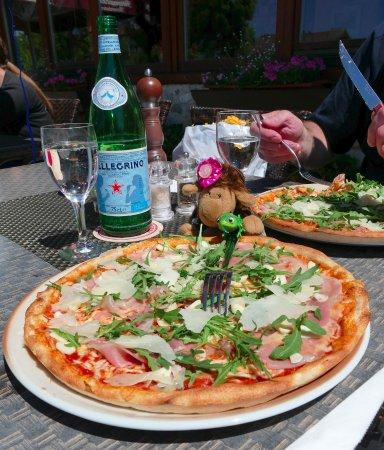 Halfing, Germany: Die San Daniele Pizza - meine Empfehlung