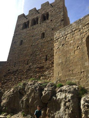 Aragon, Spain: El castillo está construido sobre rocas, en un enclave estratégico y muy atractivo para el visit