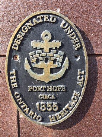 Port Hope, Canada: Our heritage designation