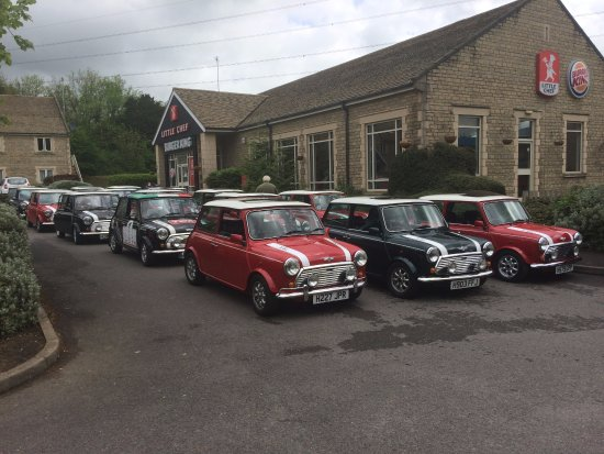 Cirencester, UK: Cotswolds Ltd Edition ( RSP ) Cooper Mini Run with breakfast to start