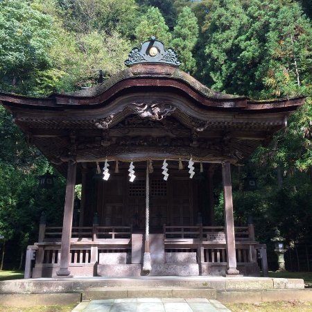 Echizen, Japan: 岡太神社