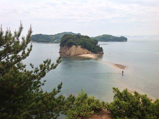 Tonosho-cho, Ιαπωνία: Les iles à marée haute vue du promontoire