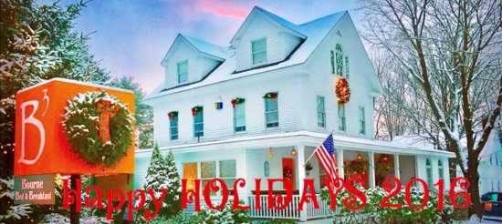 Bourne Bed & Breakfast: Happy Holidays from B3