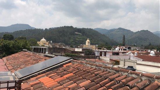 Hotel Meson de Maria: Desde la terraza