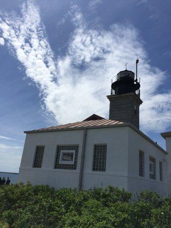 Jamestown, RI: The Beavertail Lighthouse