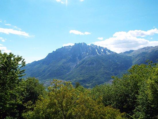 Paspardo, Italie : panorama