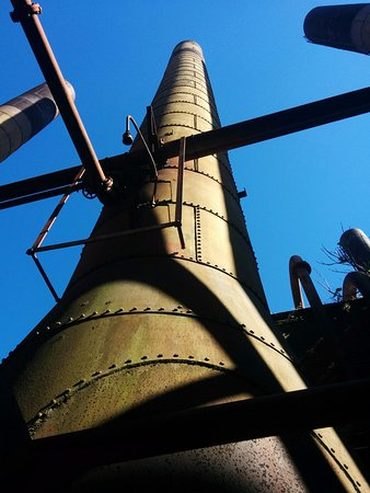 Sloss Furnaces National Historic Landmark: Riveted Construction is Everywhere