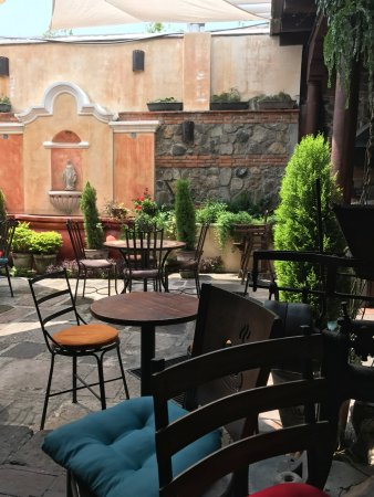Terraza Picture Of El Viejo Cafe Antigua Tripadvisor