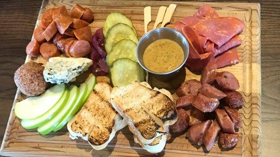Augusta, GA: Butcher Board at WOB