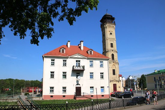 The Watchtower of the fire department and a Fire Museum