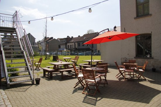 Overijse, Belgia: Outside Terrace area