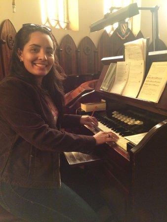 Claraval, MG: órgão das celebrações