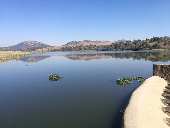 Muldersdrift, South Africa: View from dam wall