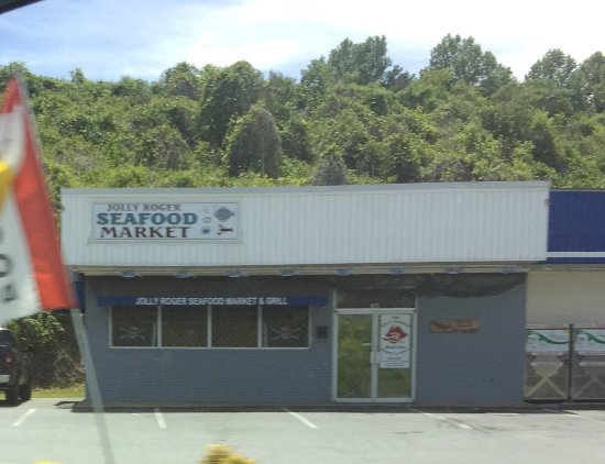 Ellijay, Gürcistan: Jolly Roger Seafood Market & Grill
