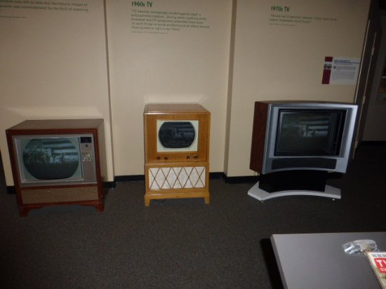 Museo Henry Ford: The grandsons didn't got the evolution of televisions with which we grew up.