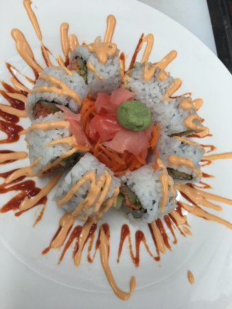 Newland, Kuzey Carolina: Spicy crunchy krab roll