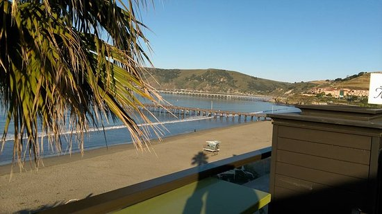 Avila Beach, CA: View from Rooftop Deck