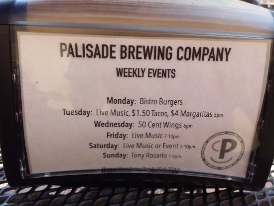 Palisade, CO: Weekly events