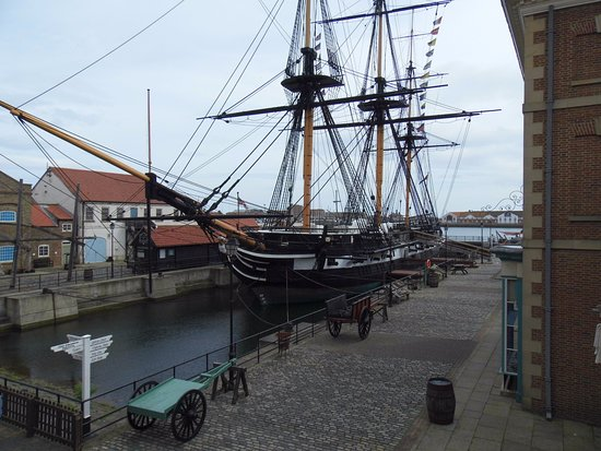 rear of ship - Picture of HMS Trincomalee, Hartlepool