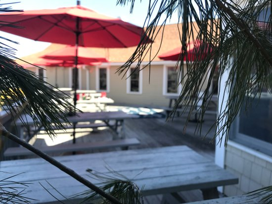 East Lyme, CT: The outdoor patio!