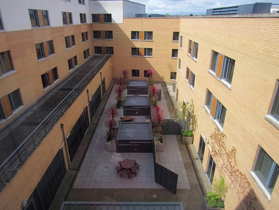 The Croke Park: The court yard from our room