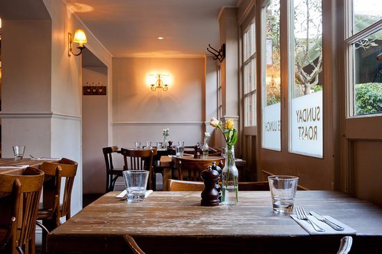 dining room - picture of the roebuck, chiswick, london - tripadvisor