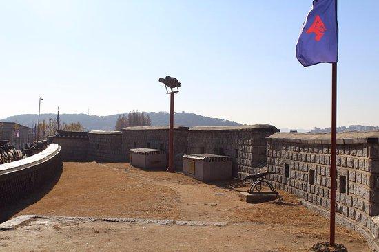 Fästningen i Hwaseong: Прекрасный вид с Крепости