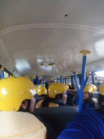 Ducktown, TN: on the bus