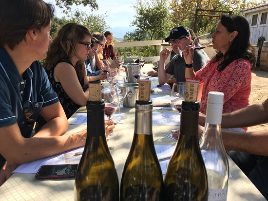 Santa Ynez, CA: Tasting with friends