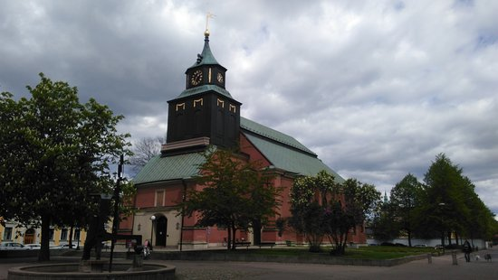 Norrköping, Suède : Hedvigs church