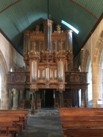 Enclos Paroissial de Guimiliau : orgues