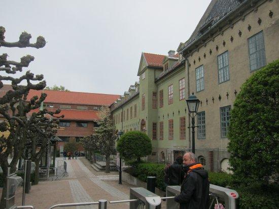 Musée folklorique norvégien : entrance