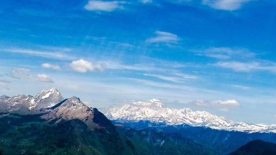 Metz-Tessy, Prancis: Vue sur le Mont-Blanc