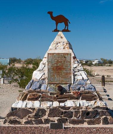 Quartzsite, AZ : Hi Jolly Monument